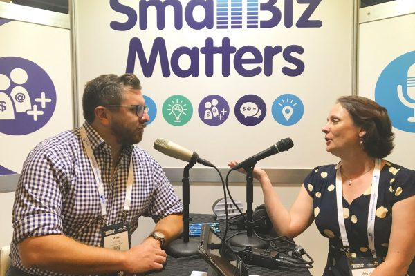 Accounting & Business Expo - Small Biz Matters Podcasting Booth